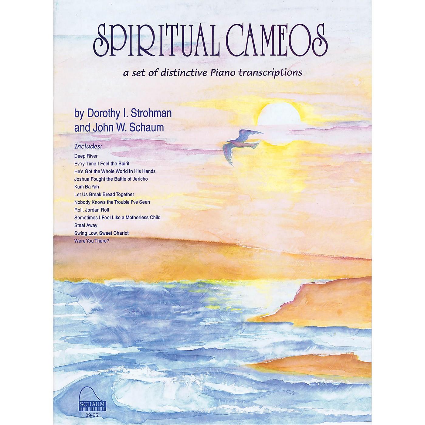 SCHAUM Spiritual Cameos Educational Piano Series Softcover thumbnail