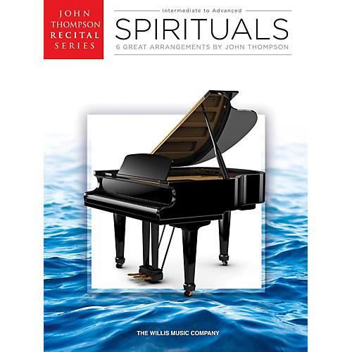 Hal Leonard Spirituals John Thompson Recital Series Intermediate to Advanced Level Piano thumbnail