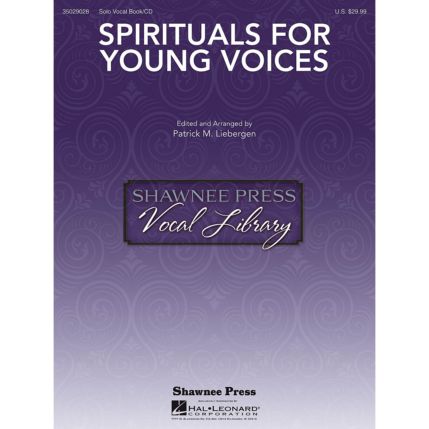 Shawnee Press Spirituals for Young Voices Voice and Piano thumbnail