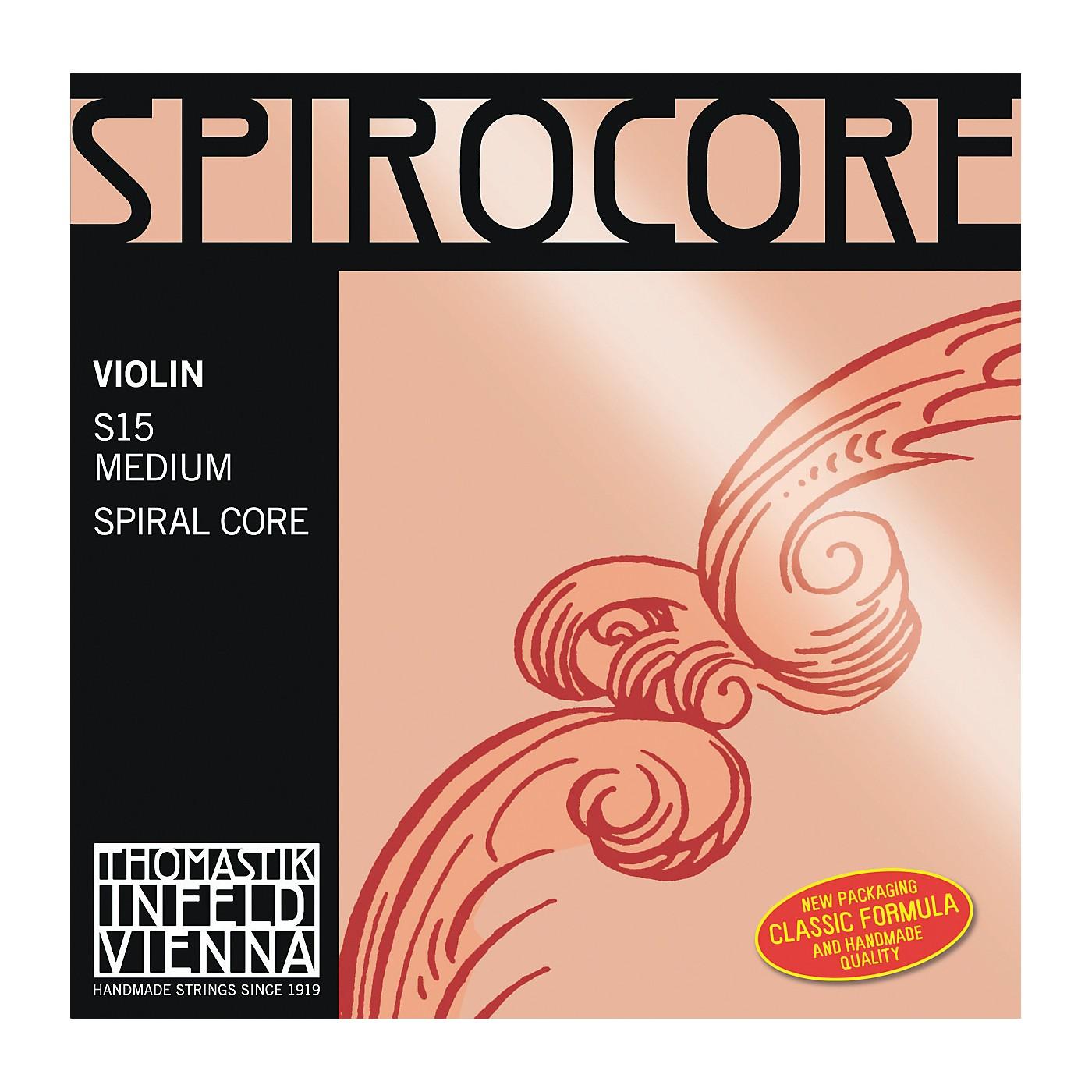 Thomastik Spirocore 4/4 Size Violin Strings thumbnail