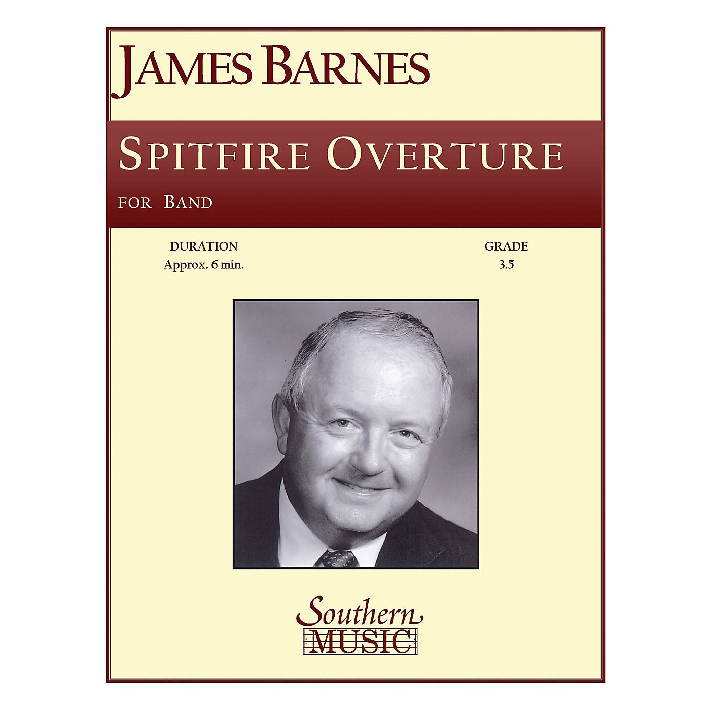 Southern Spitfire Overture Concert Band Level 3. Composed by James Barnes thumbnail
