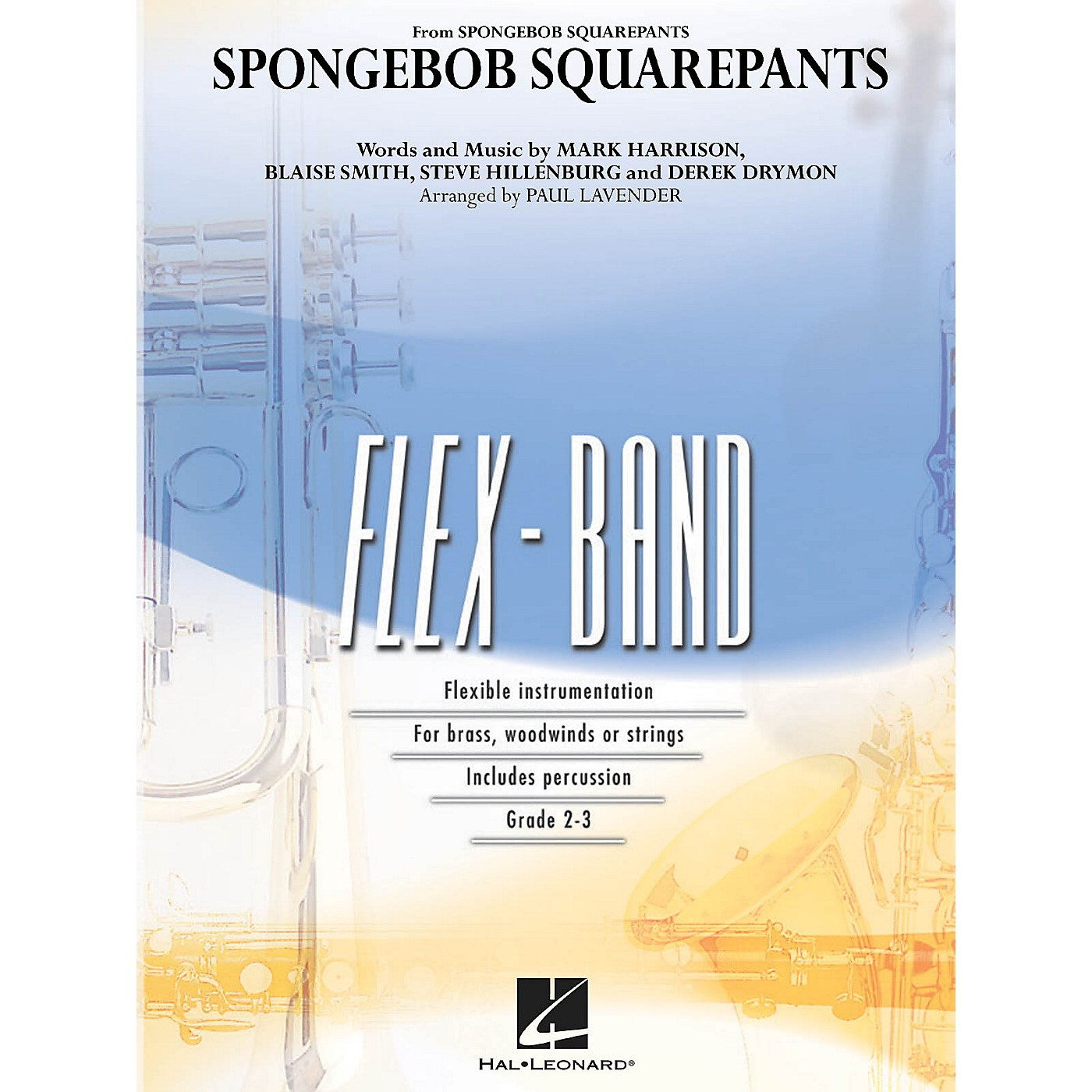 Hal Leonard SpongeBob SquarePants Concert Band Level 2-3 Arranged by Paul Lavender thumbnail