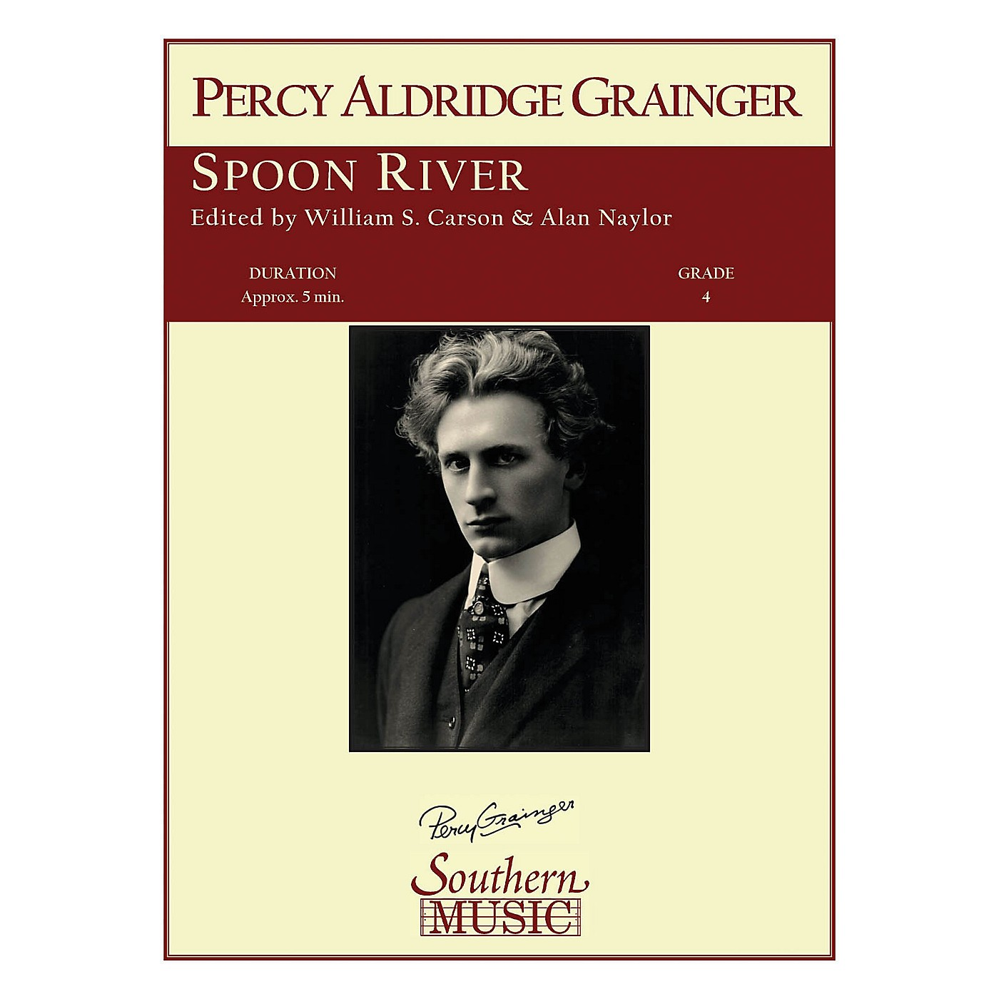 Southern Spoon River Concert Band Level 4 Arranged by William Carson thumbnail