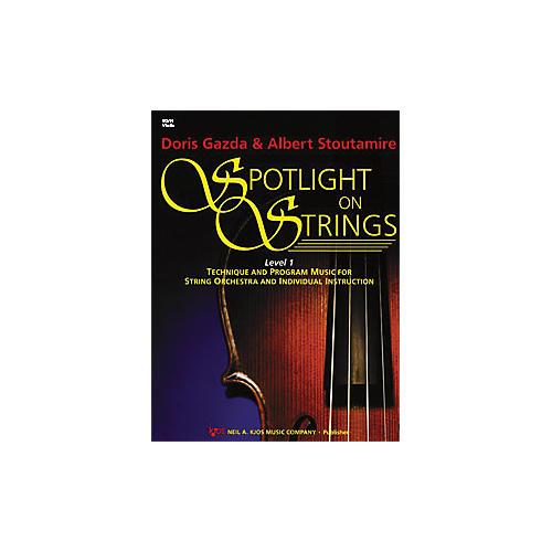 KJOS Spotlight On Strings 1 Violin thumbnail