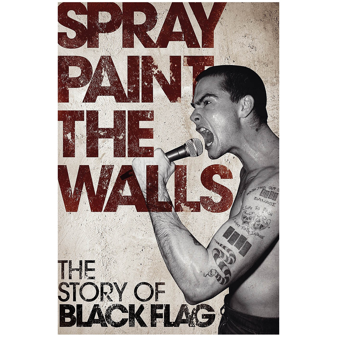 Omnibus Spray Paint the Walls - The Story of Black Flag Omnibus Press Series Softcover thumbnail