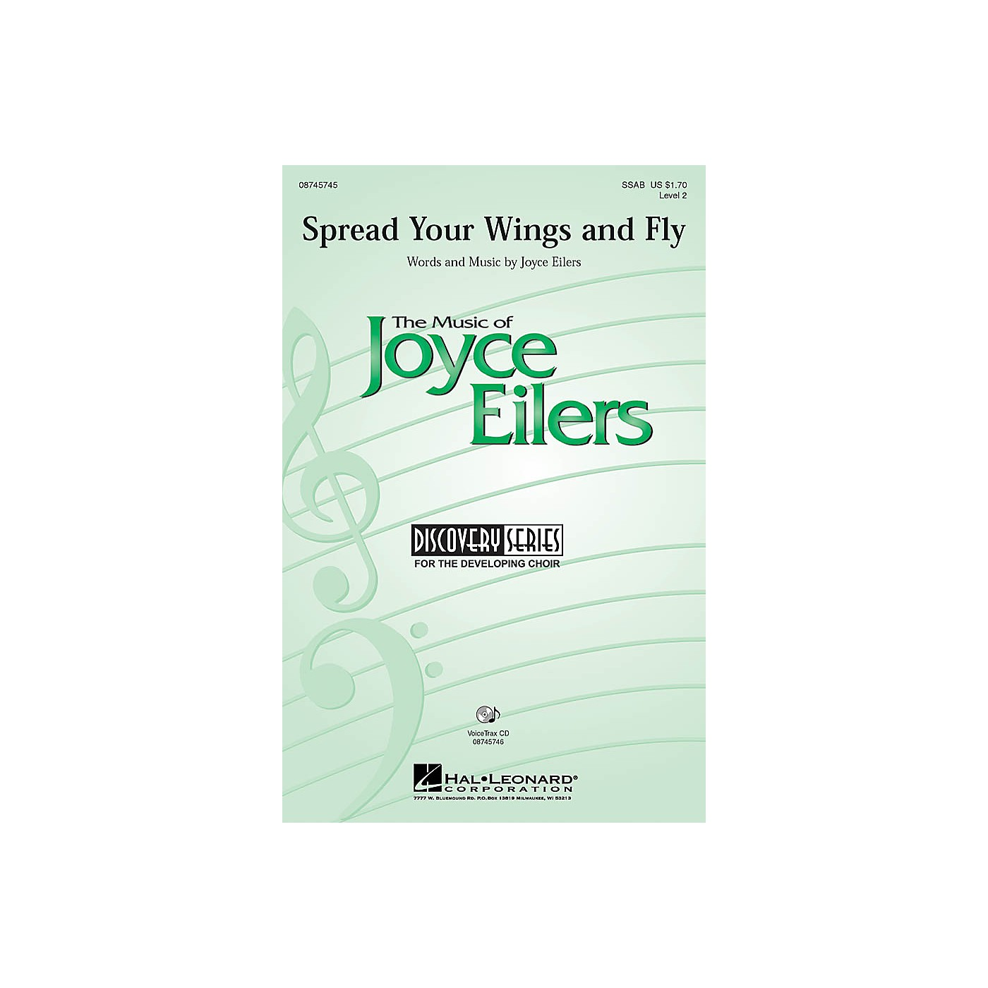 Hal Leonard Spread Your Wings and Fly SSAB composed by Joyce Eilers thumbnail