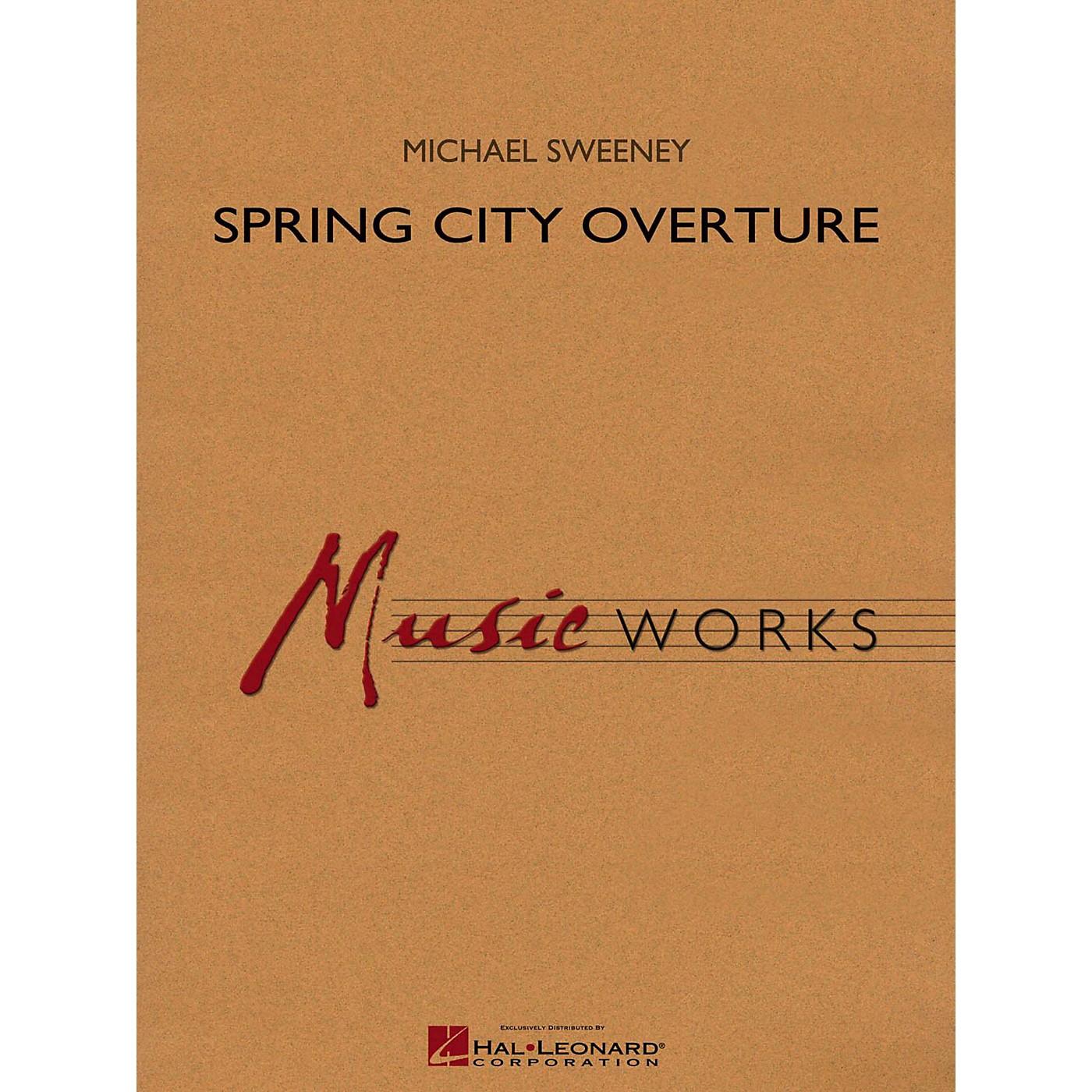 Hal Leonard Spring City Overture Concert Band Level 4 thumbnail