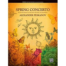 Alfred Spring Concerto Intermediate Duet 2 copies required for performance