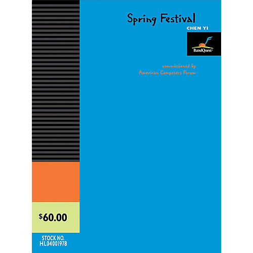 American Composers Forum Spring Festival (BandQuest Series Grade 3) Concert Band Level 3 Composed by Chen Yi thumbnail