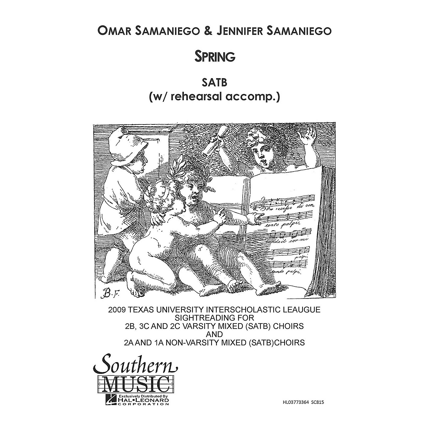 Southern Spring SATB Composed by Jennifer Samaniego thumbnail