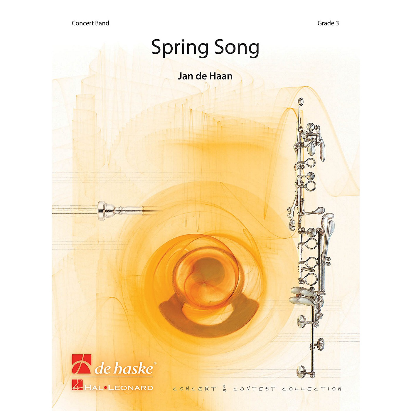 De Haske Music Spring Song Concert Band Level 4 Composed by Jan de Haan thumbnail