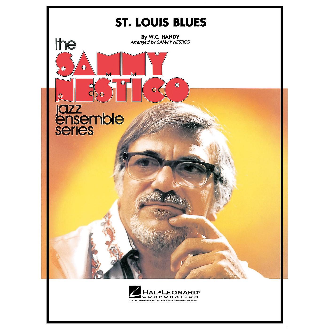 Hal Leonard St. Louis Blues Jazz Band Level 4 by Glenn Miller Arranged by Sammy Nestico thumbnail