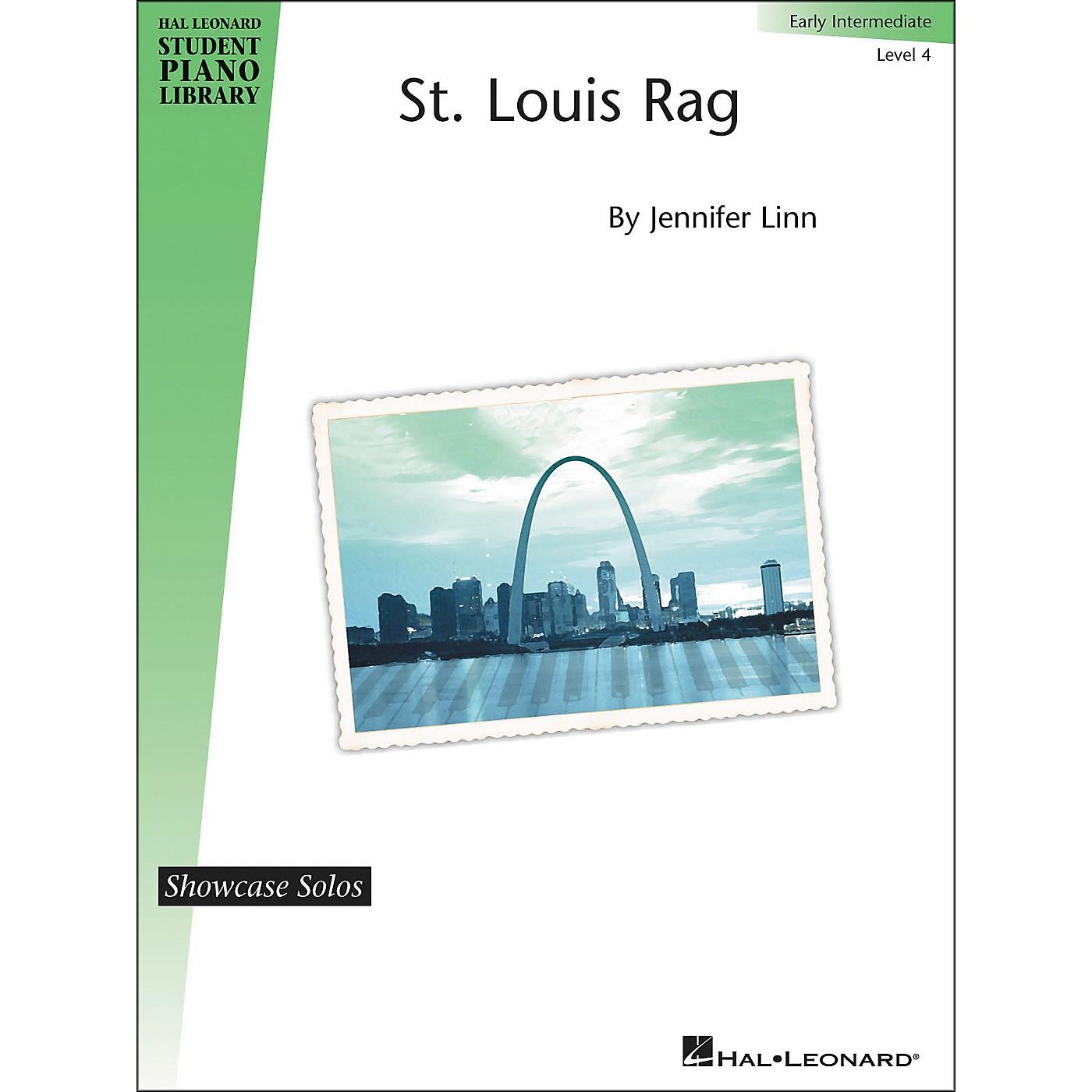 Hal Leonard St. Louis Rag - Showcase Solo Level 4 Early Intermediate Hal Leonard Student Piano Library by Jennifer Linn thumbnail