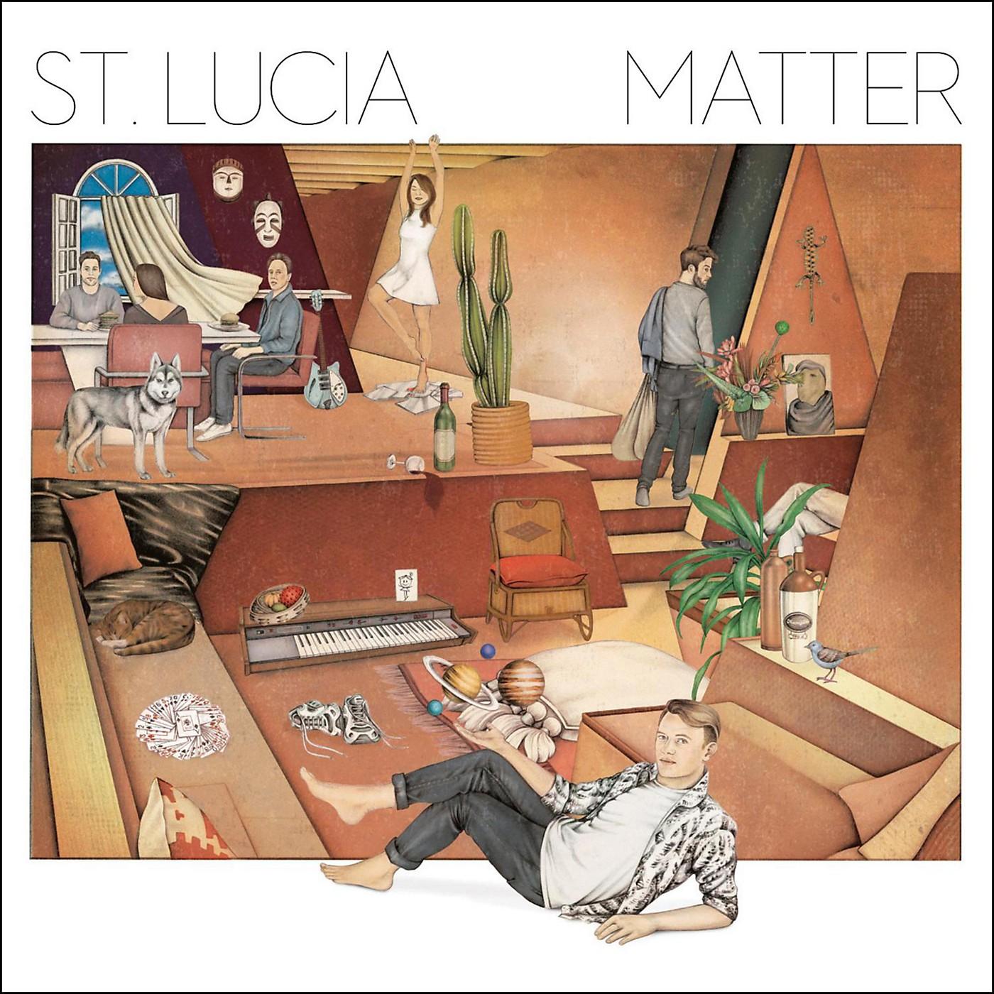 Sony St. Lucia - Matter CD thumbnail