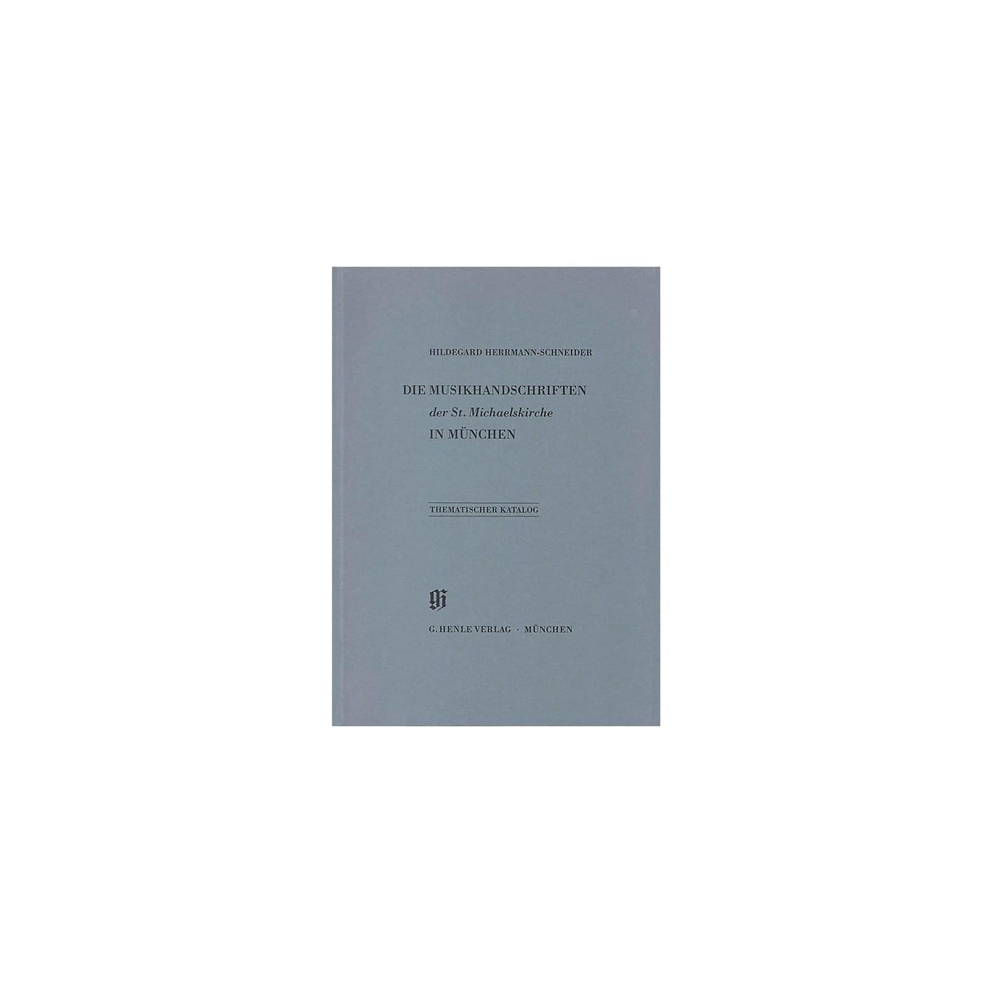 G. Henle Verlag St. Michaelskirche in München Henle Books Series Softcover thumbnail