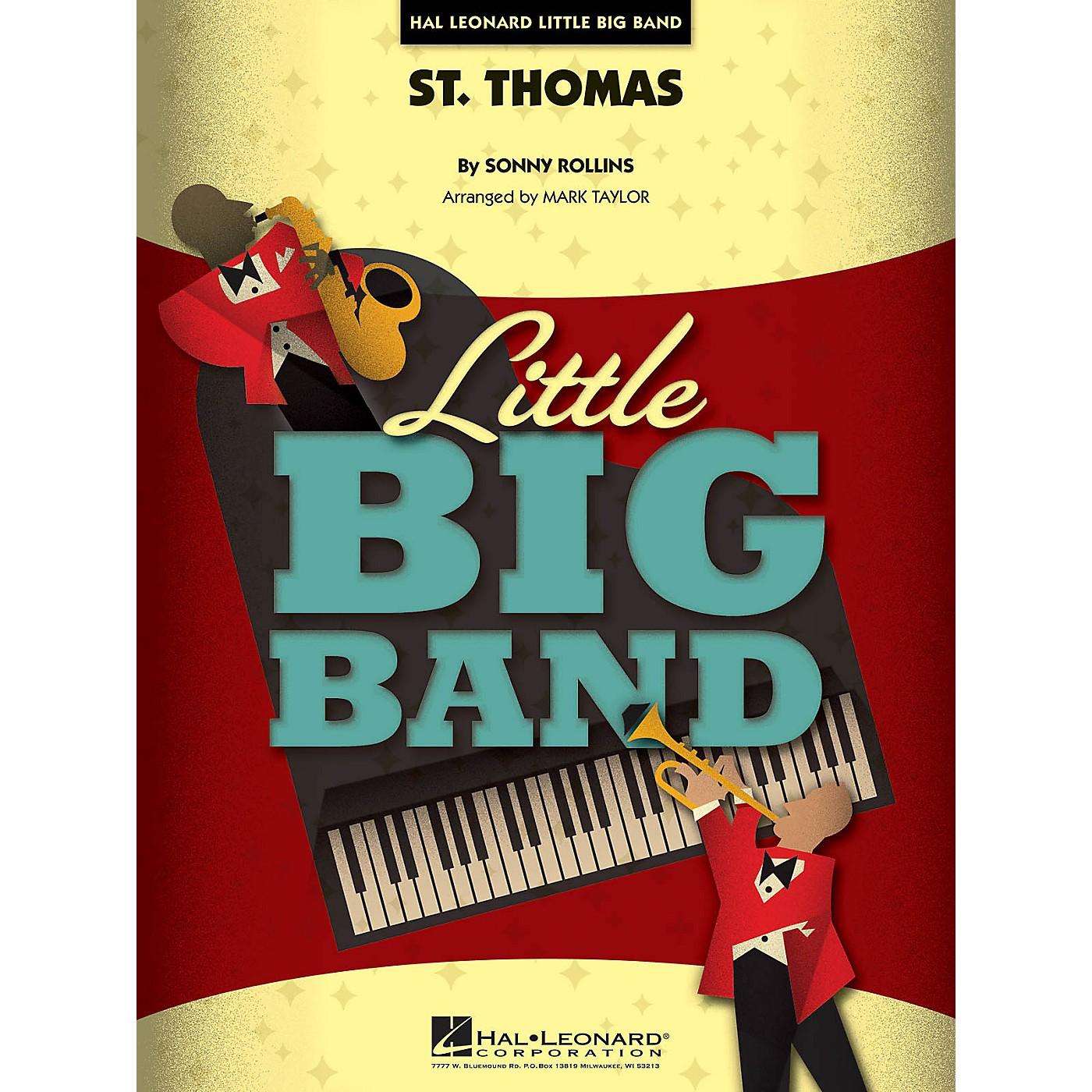 Hal Leonard St. Thomas Jazz Band Level 3 Arranged by Mark Taylor thumbnail