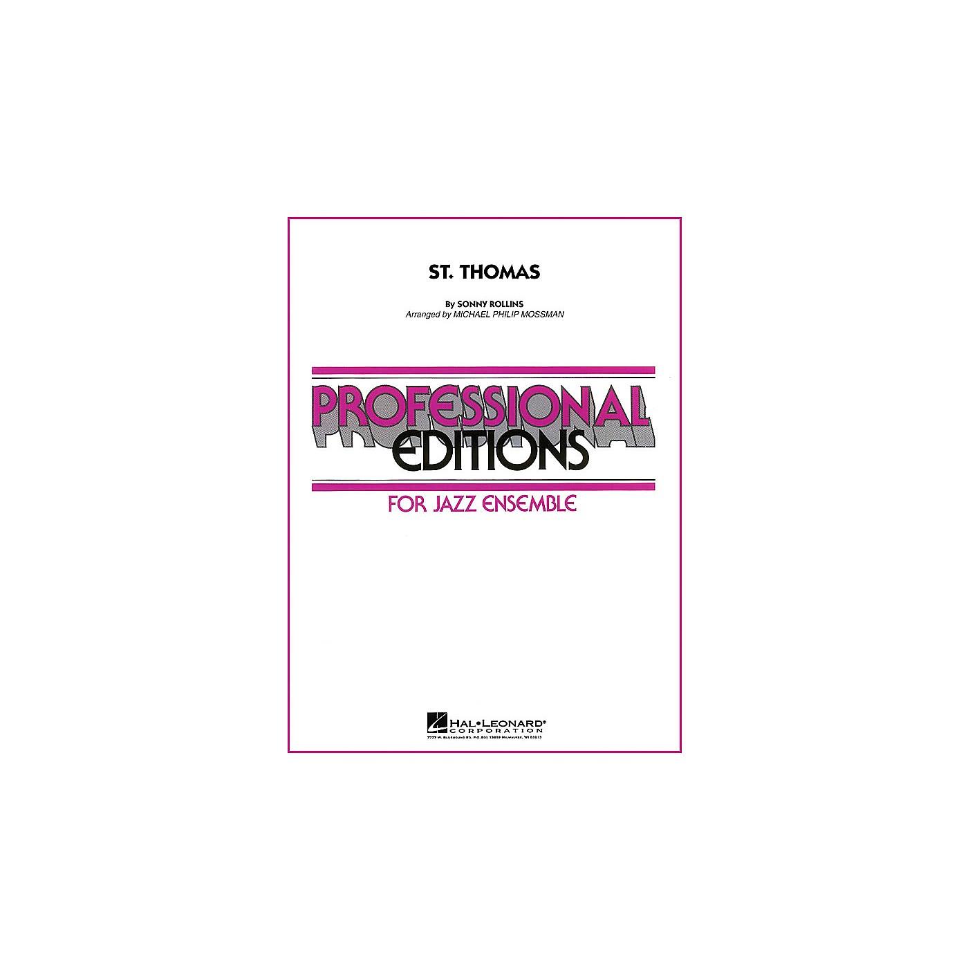Hal Leonard St. Thomas Jazz Band Level 5 Arranged by Michael Philip Mossman thumbnail