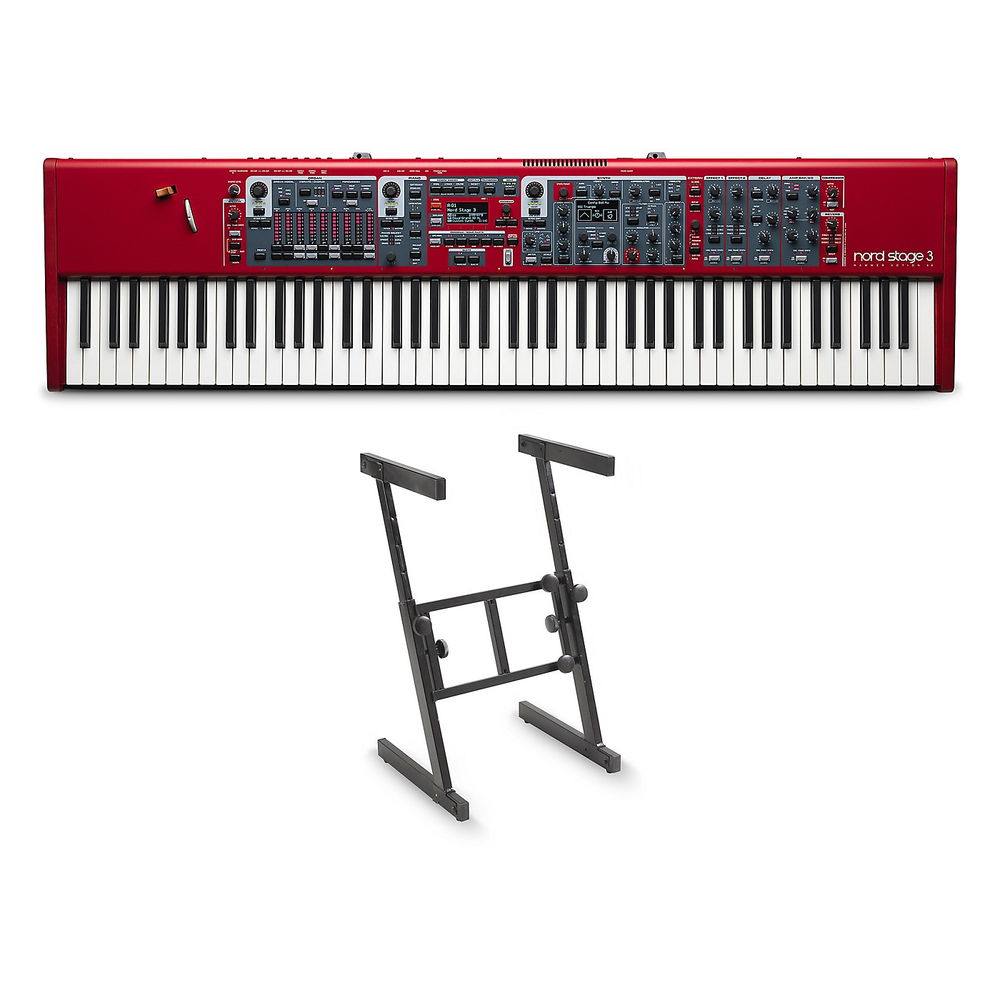 Nord Stage 3 88 and Z Stand thumbnail