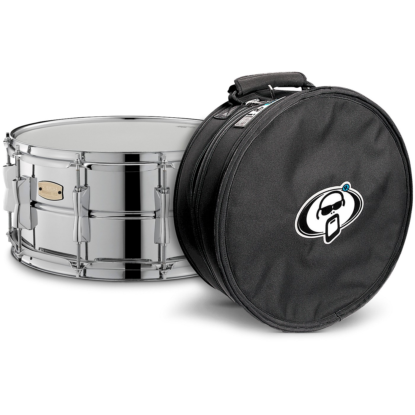 Yamaha Stage Custom Steel Snare with Protection Racket Case thumbnail