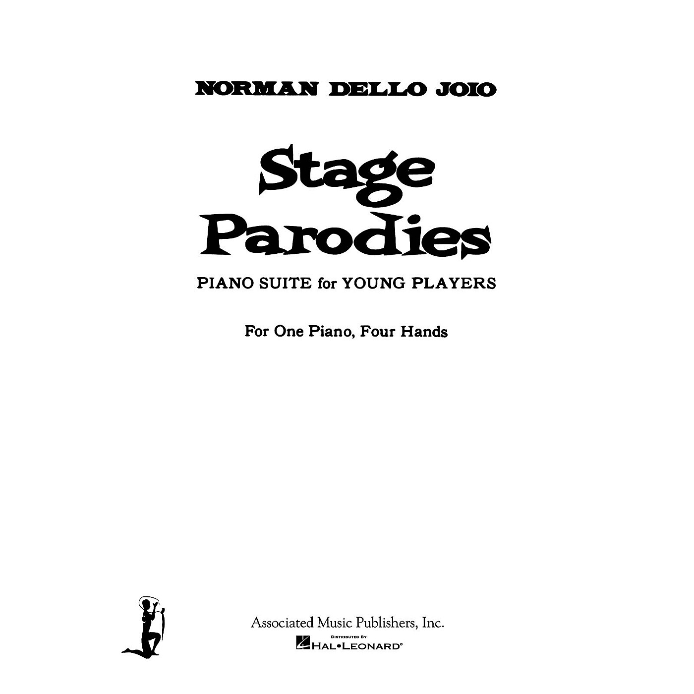 Associated Stage Parodies (Piano Duet) Piano Duet Series Composed by Norman Dello Joio thumbnail