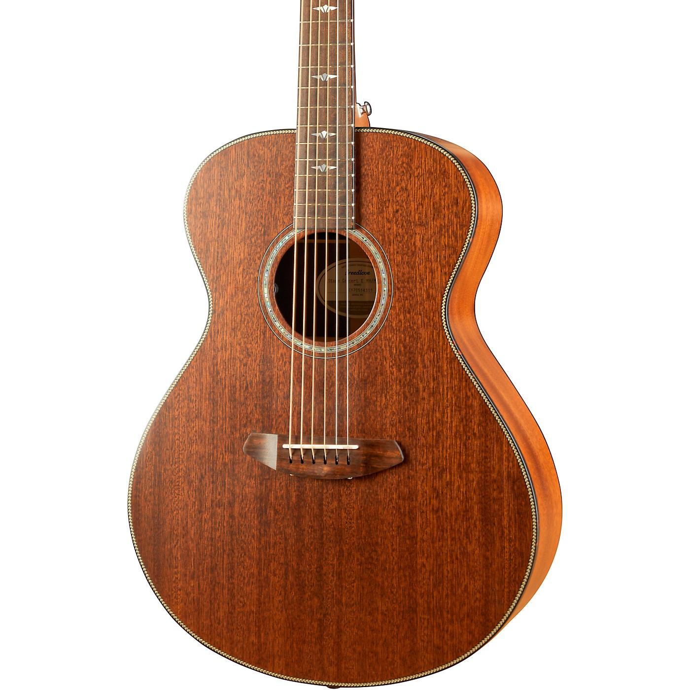 Breedlove Stage Series Concert E Mahogany-Mahogany LTD Acoustic-Electric Guitar thumbnail