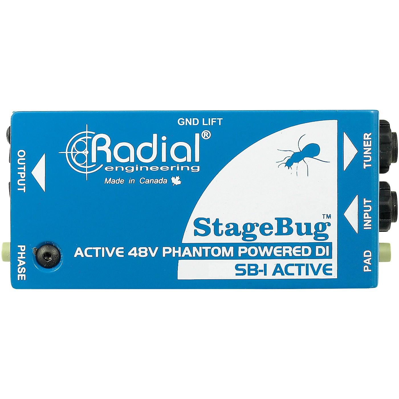 Radial Engineering StageBug SB-1 Compact Active Direct Box thumbnail