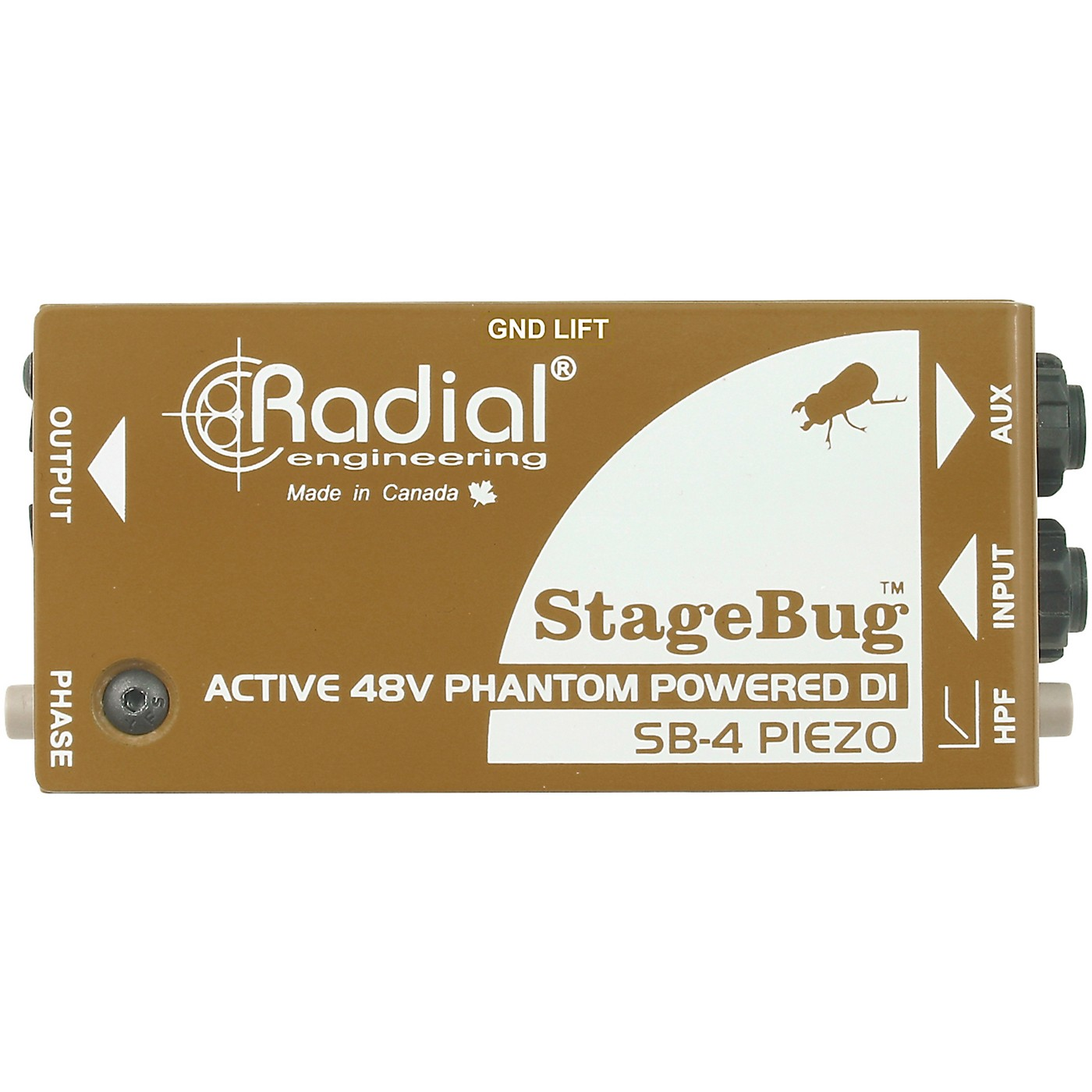 Radial Engineering StageBug SB-4 Compact Active Piezo DI thumbnail