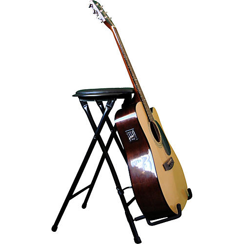Alfred StagePlayer II - Guitarist Stool and Stand with Footrest thumbnail