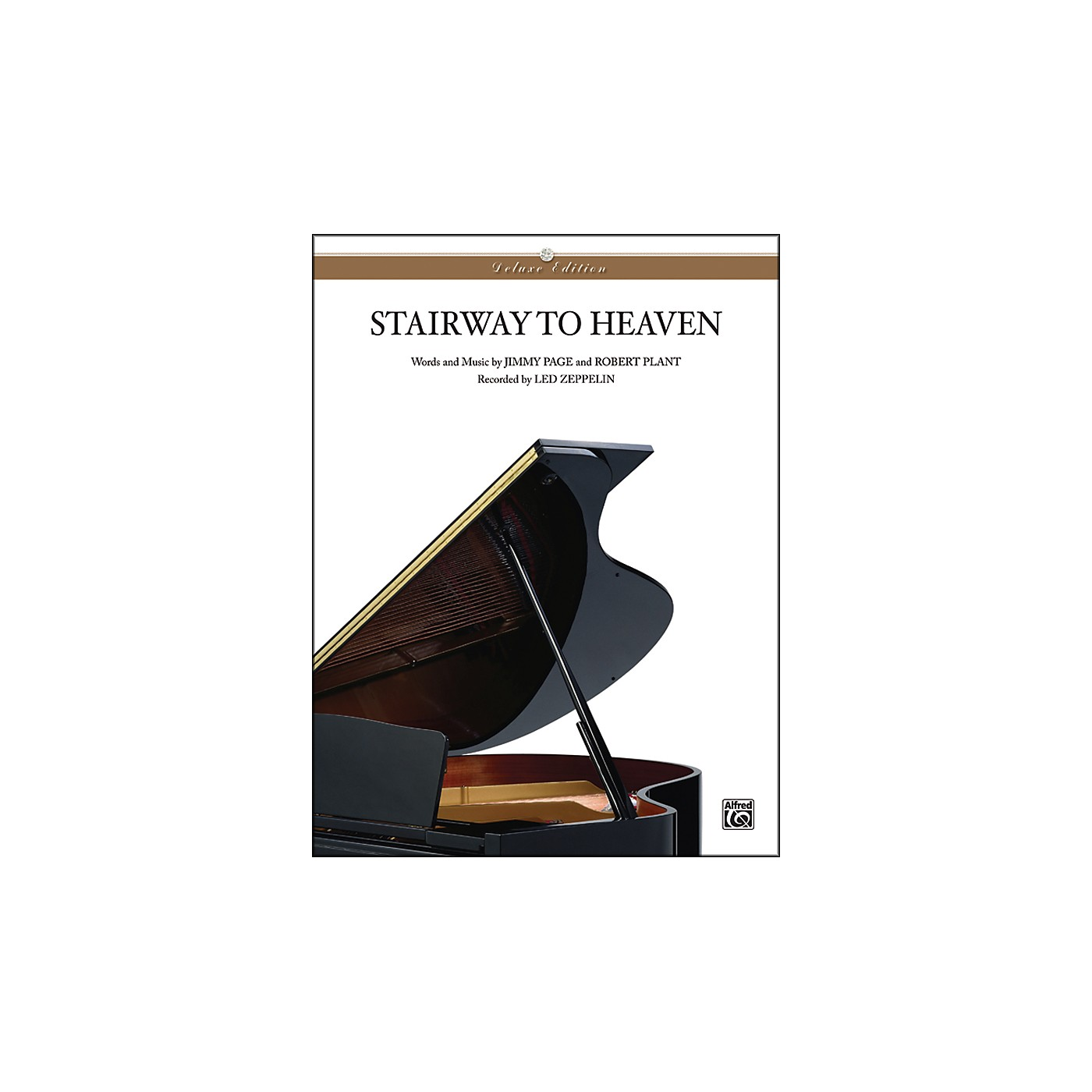 Alfred Stairway to Heaven Piano Solo Sheet Music thumbnail