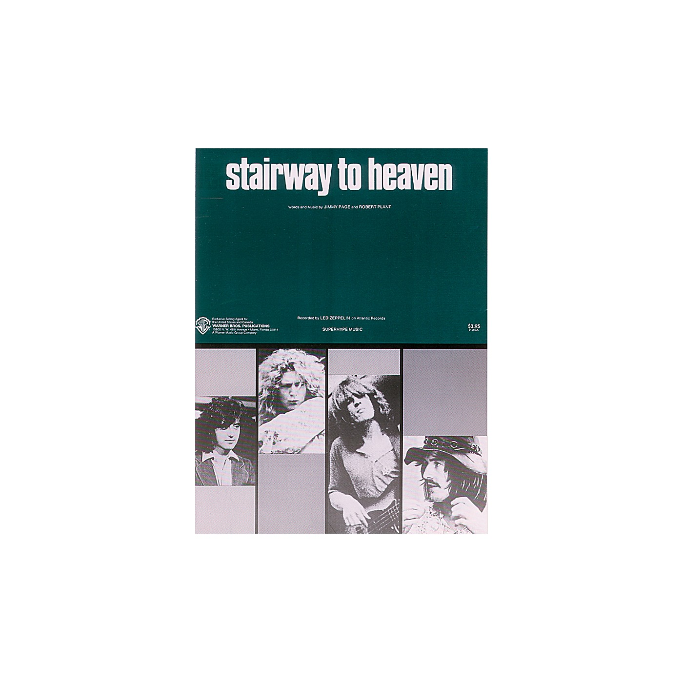 Alfred Stairway to Heaven Piano/Vocal/Chords Sheet thumbnail