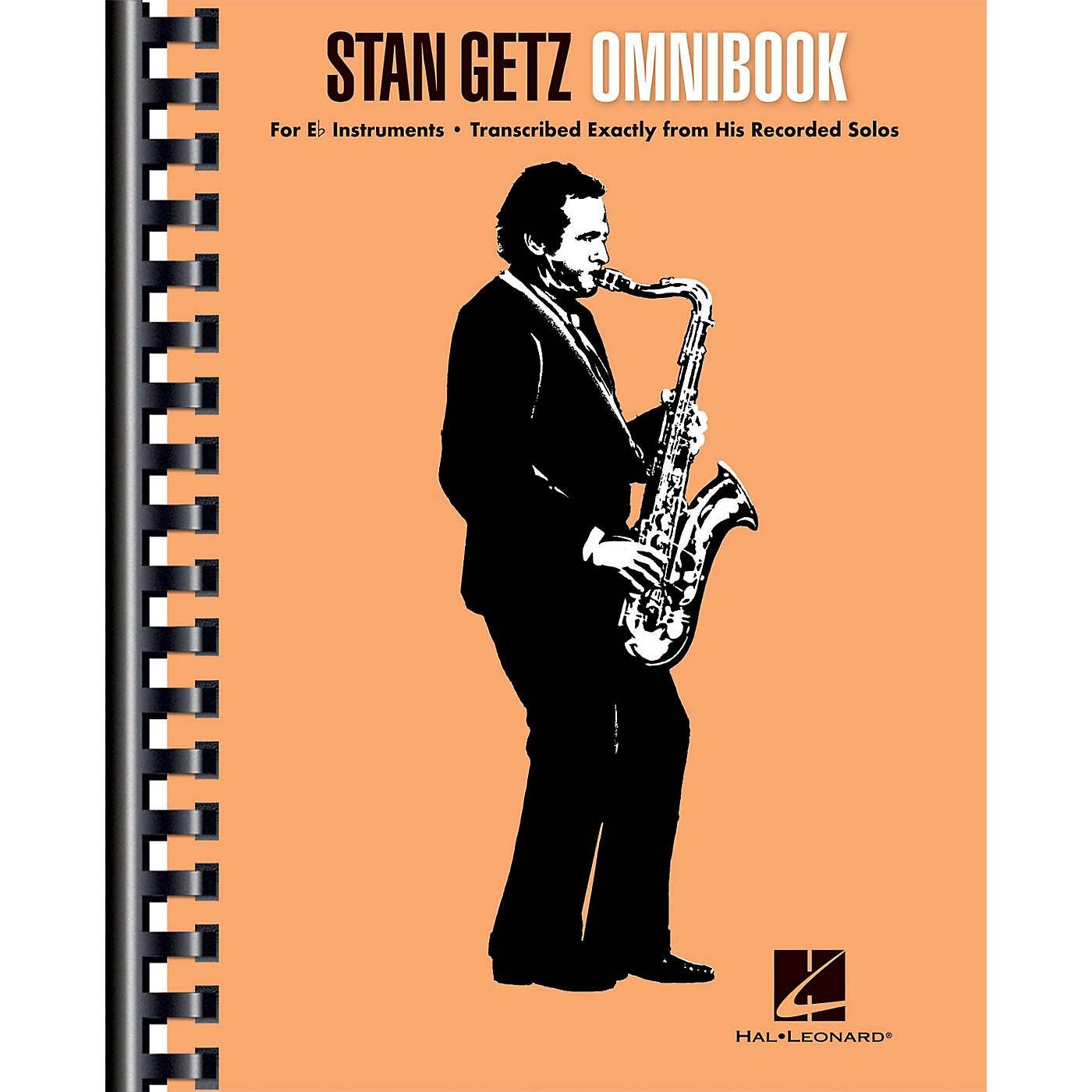 Hal Leonard Stan Getz - Omnibook For E-flat Instruments thumbnail