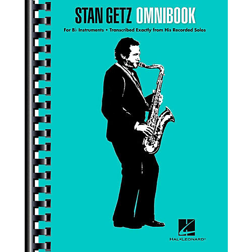 Hal Leonard Stan Getz Omnibook For B-Flat Instruments thumbnail