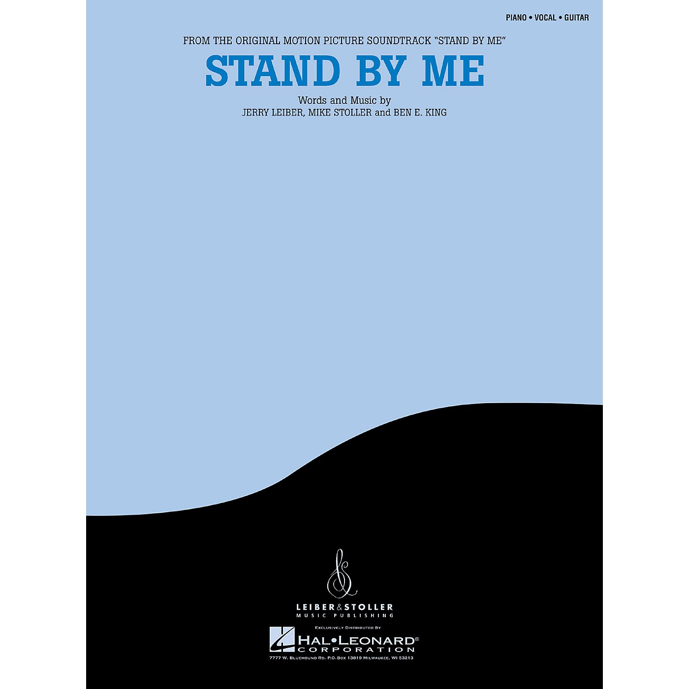 Hal Leonard Stand By Me Piano Vocal Series Performed by Ben E. King thumbnail