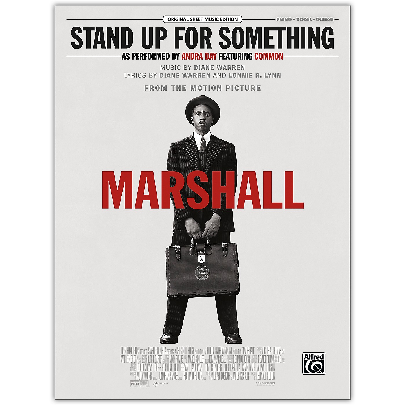 Alfred Stand Up for Something (from Marshall) Piano/Vocal/Guitar thumbnail