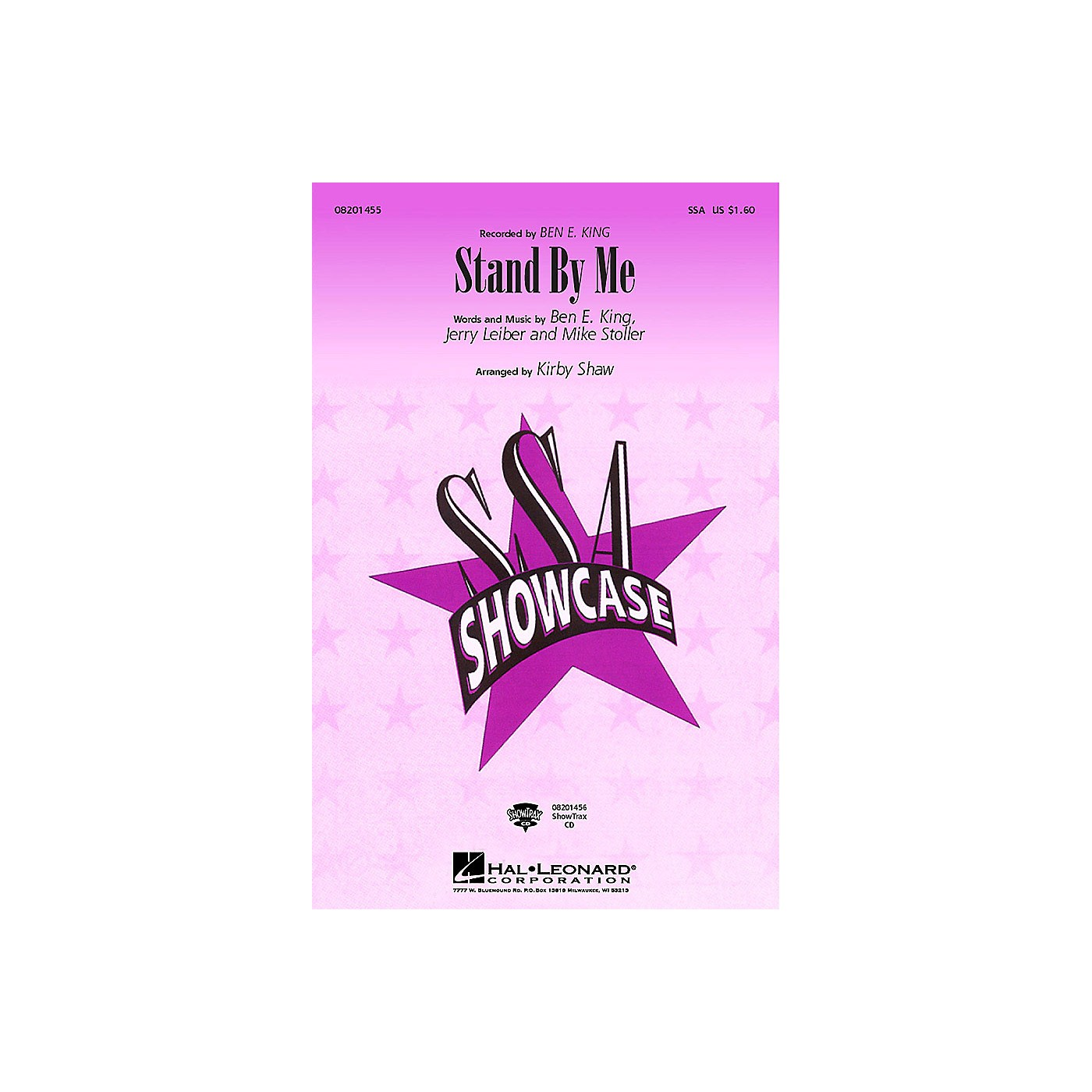 Hal Leonard Stand by Me SSA by Ben E. King arranged by Kirby Shaw thumbnail