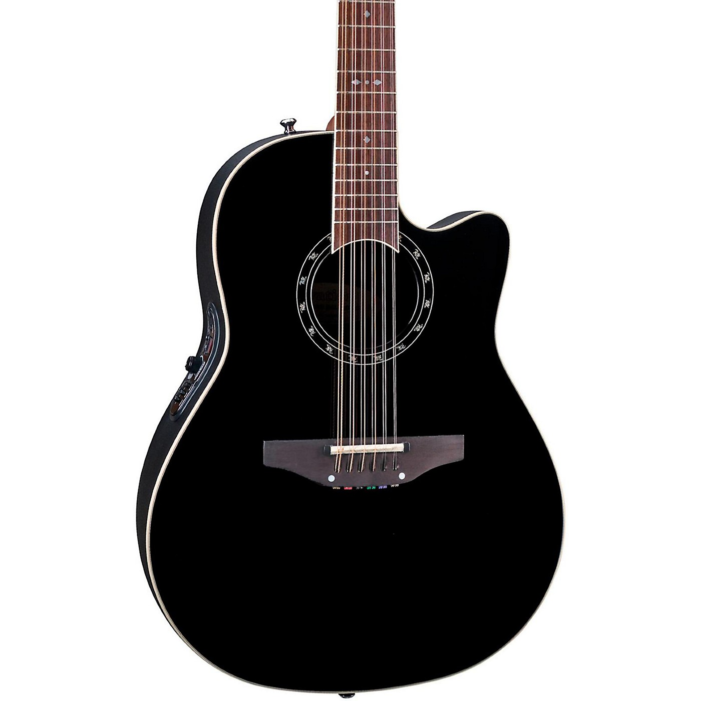 Ovation Standard Balladeer 2751 AX 12-String Acoustic-Electric Guitar thumbnail