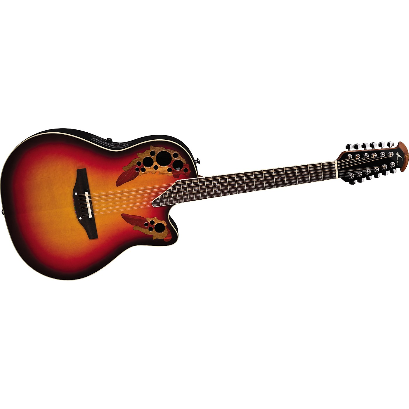 Ovation Standard Elite 2758 AX 12-String Acoustic-Electric Guitar thumbnail