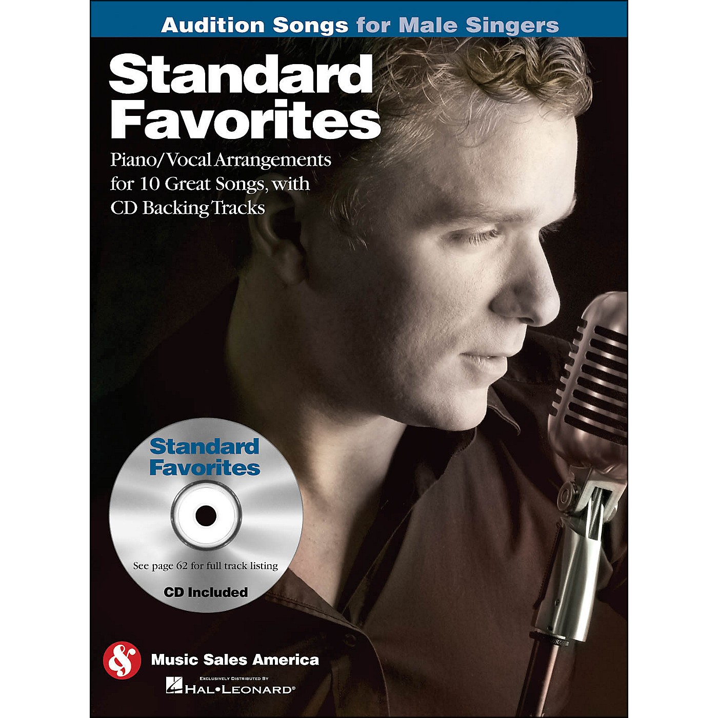 Hal Leonard Standard Favorites - Audition Songs for Male Singers Book/CD thumbnail