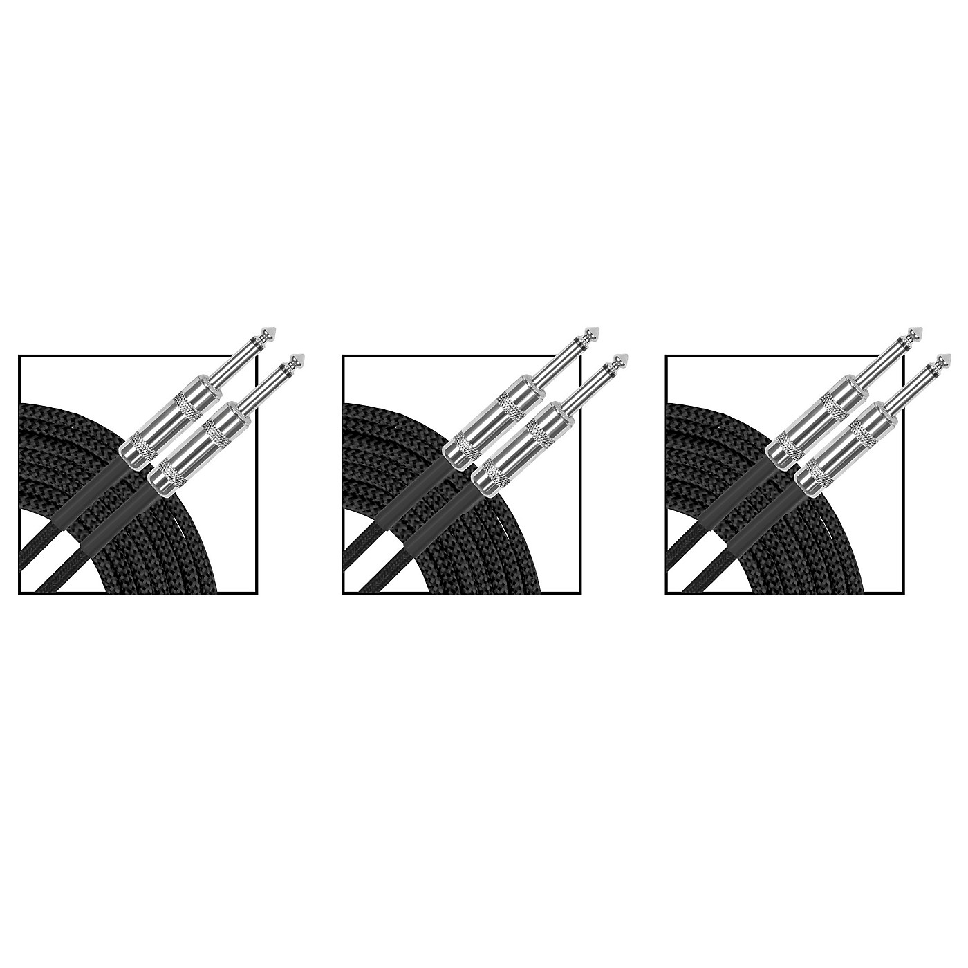 Musician's Gear Standard Instrument Cable Braid - 20 ft. - 3 Pack thumbnail