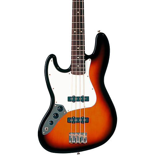 Fender Standard Left-Handed Jazz Bass Guitar with Rosewood Fretboard-thumbnail