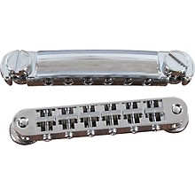 TonePros Standard Locking Tune-o-matic/Tailpiece Set (small posts/notched saddles)