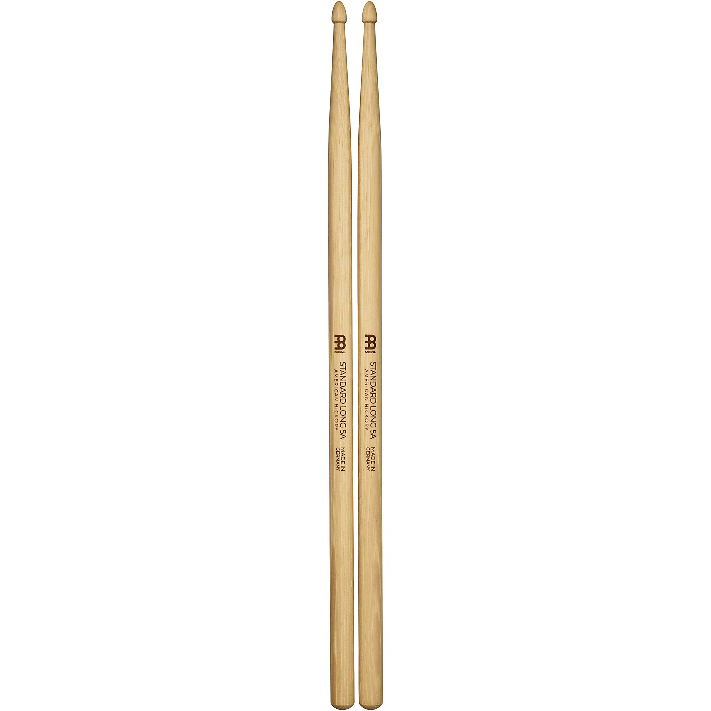Meinl Stick & Brush Standard Long Hickory Drum Sticks thumbnail
