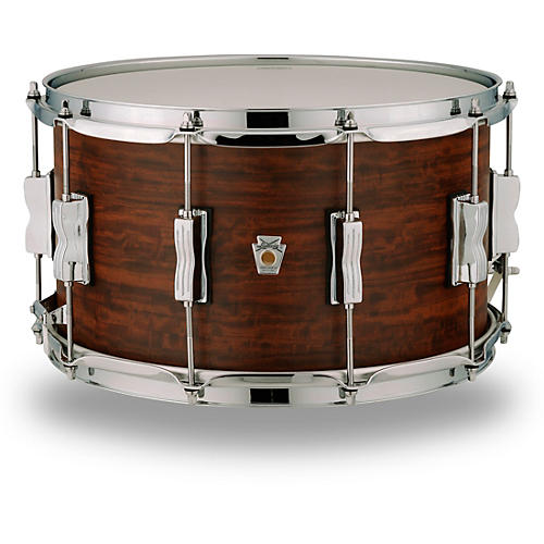 Ludwig Standard Maple Snare Drum with Aged Chestnut Veneer thumbnail