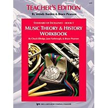 KJOS Standard Of Excellence BK 1,MSC THRY/HISTORY WB-TEACHER