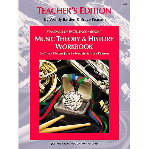 KJOS Standard Of Excellence BK 1,MSC THRY/HISTORY WB-TEACHER thumbnail