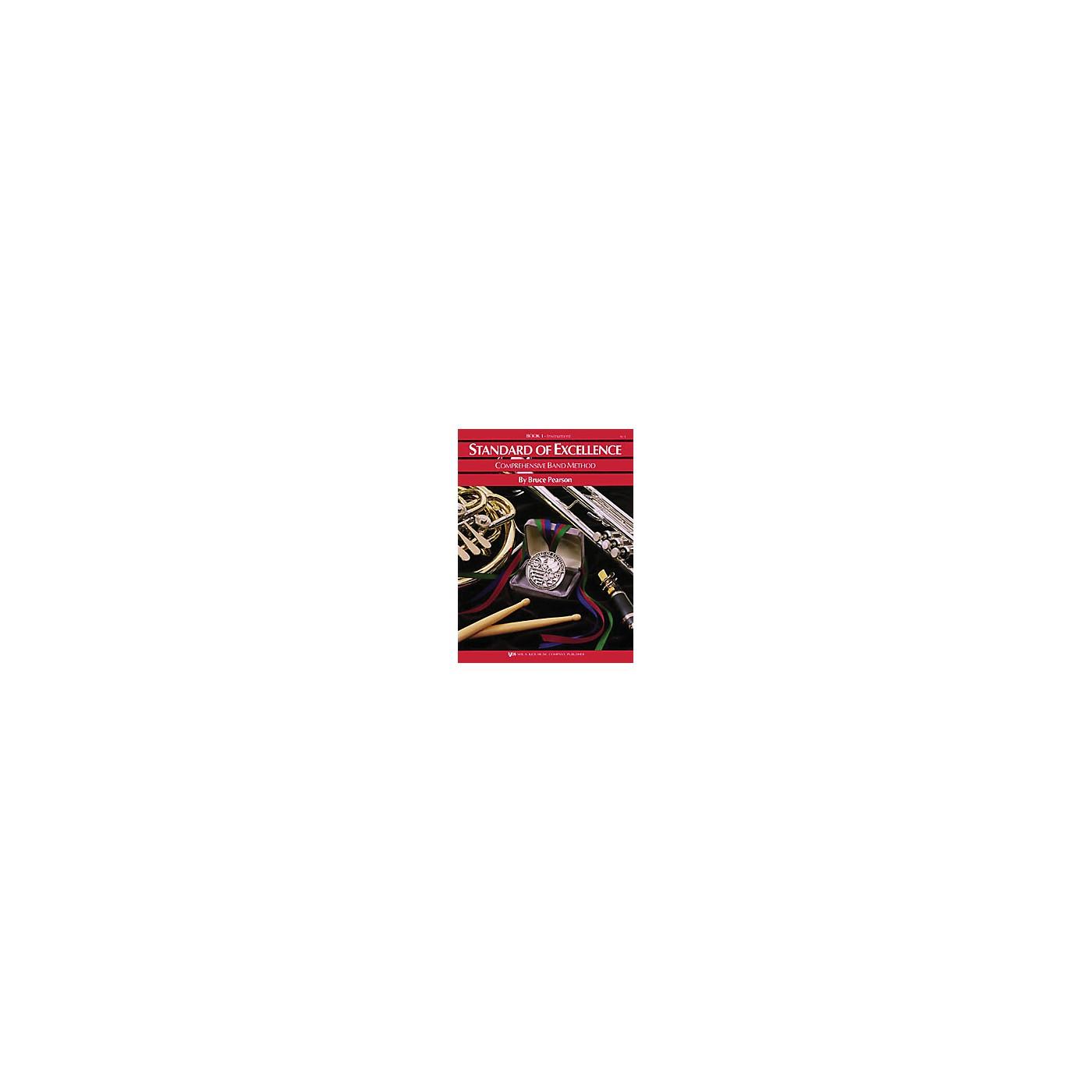 KJOS Standard Of Excellence Book 1 Baritone Bc thumbnail