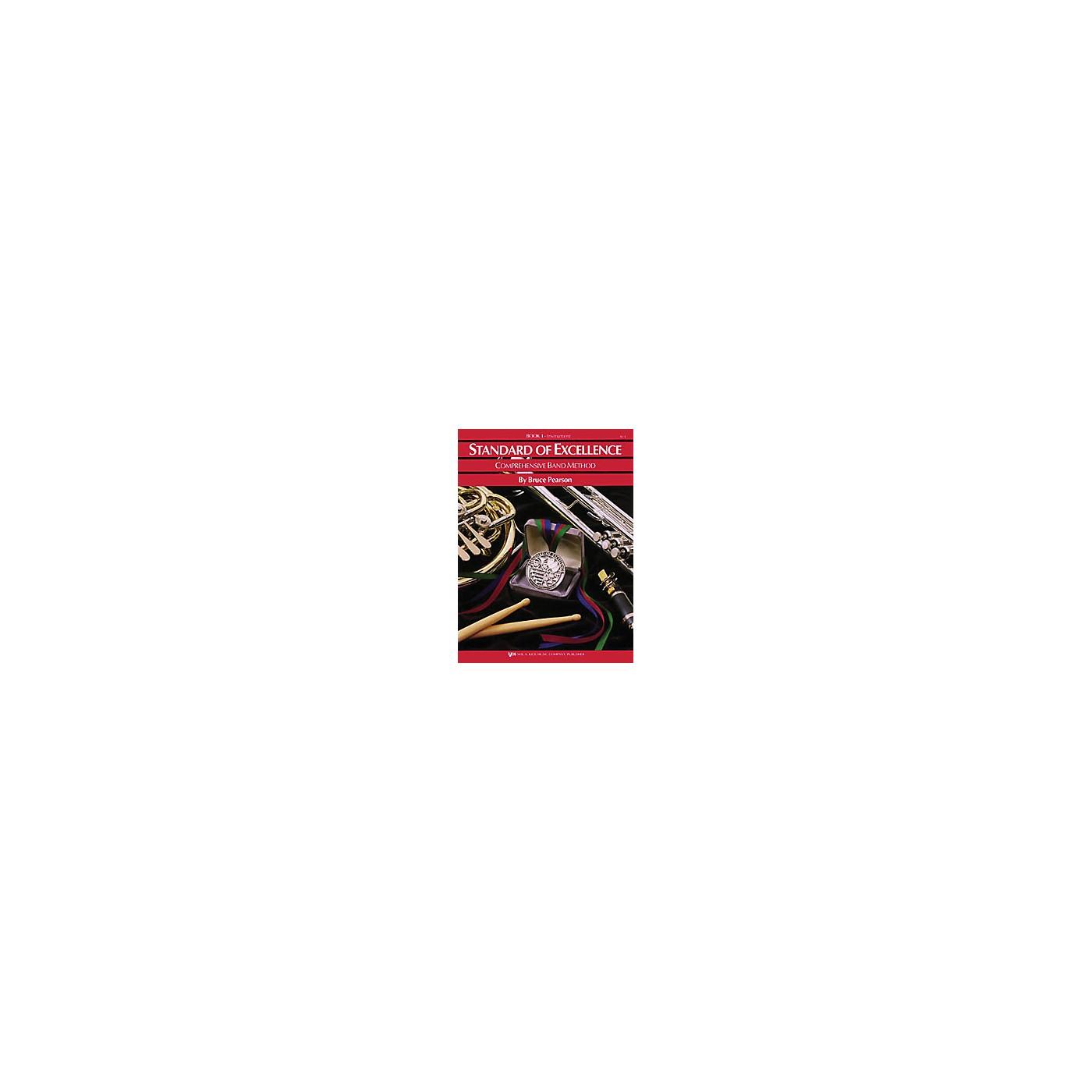 KJOS Standard Of Excellence Book 1 Baritone Tc thumbnail