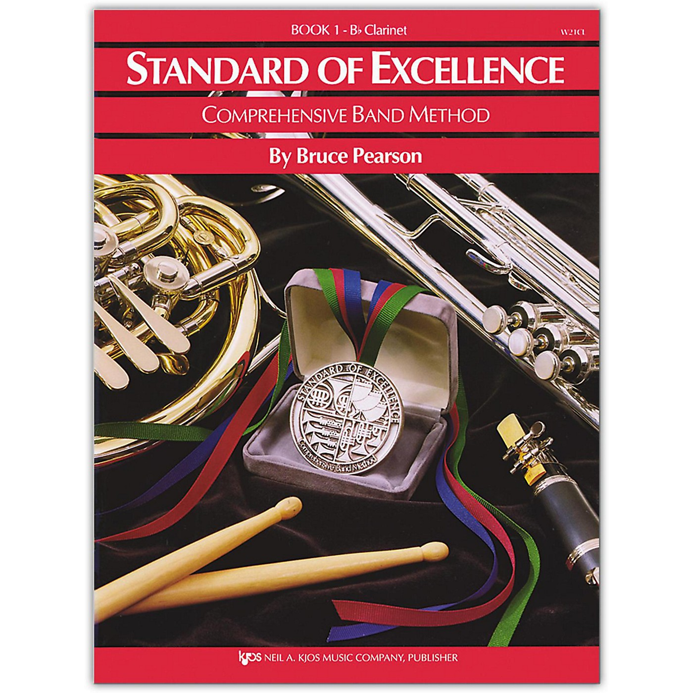 KJOS Standard Of Excellence Book 1 Clarinet thumbnail