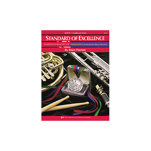 KJOS Standard Of Excellence Book 1 Conductor Score thumbnail
