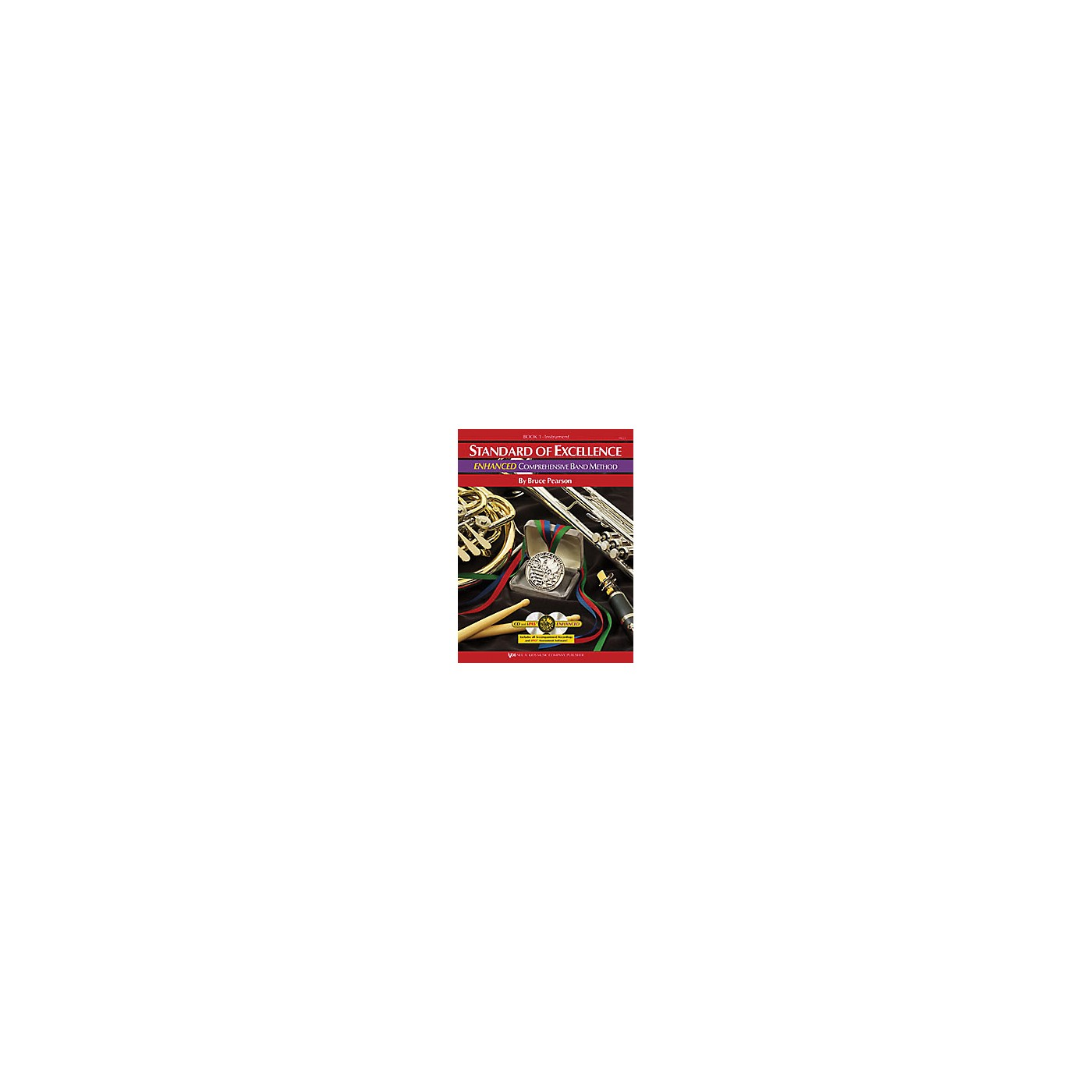 KJOS Standard Of Excellence Book 1 Enhanced Baritone Bc thumbnail